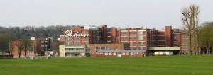 Somerdale_Factory,_Keynsham,_from_lawns