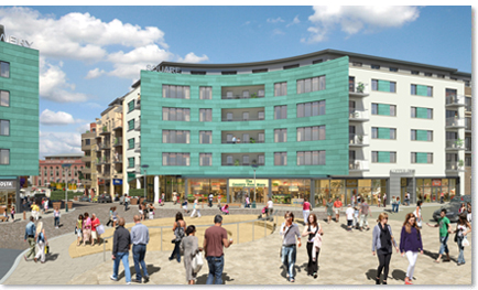 Coppercres building in Brewery Square project