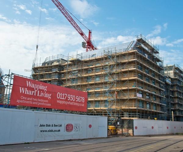 New Build Waterfront Bristol