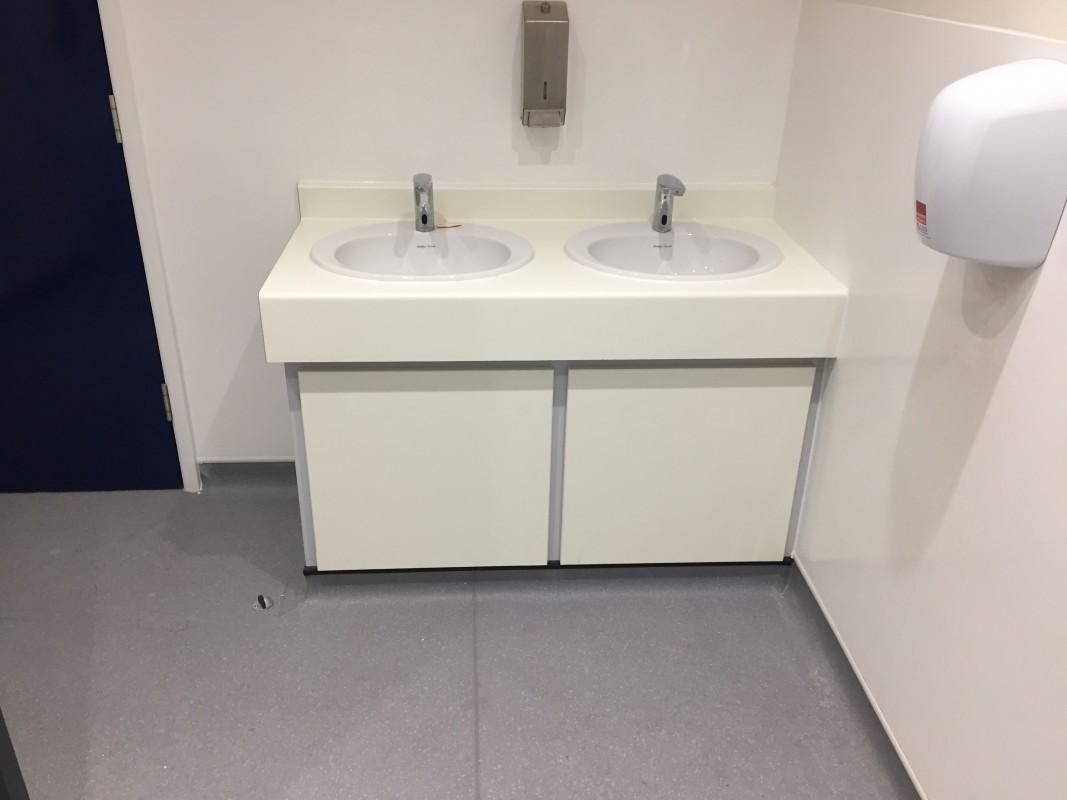 Image of refurbished sink area